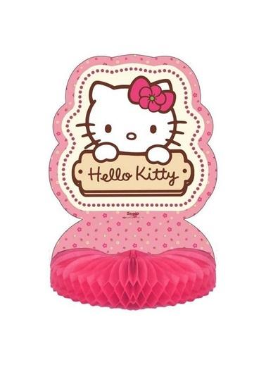 Hello Kitty Çiçekler Masa Orta Süsü-Hello Kitty